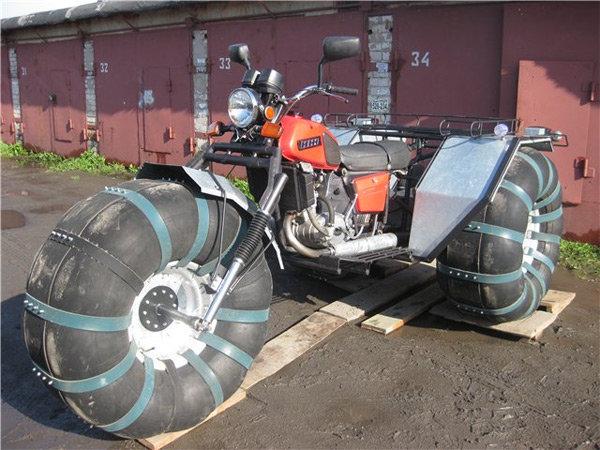 Вездеход из мотоцикла своими руками