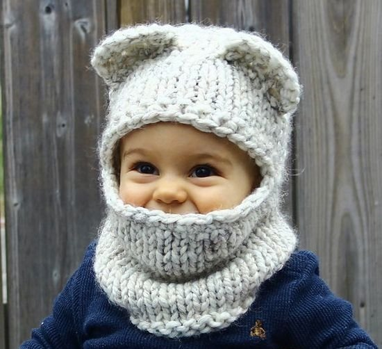 Вязание шапок для детей от 1 до 3 лет 98