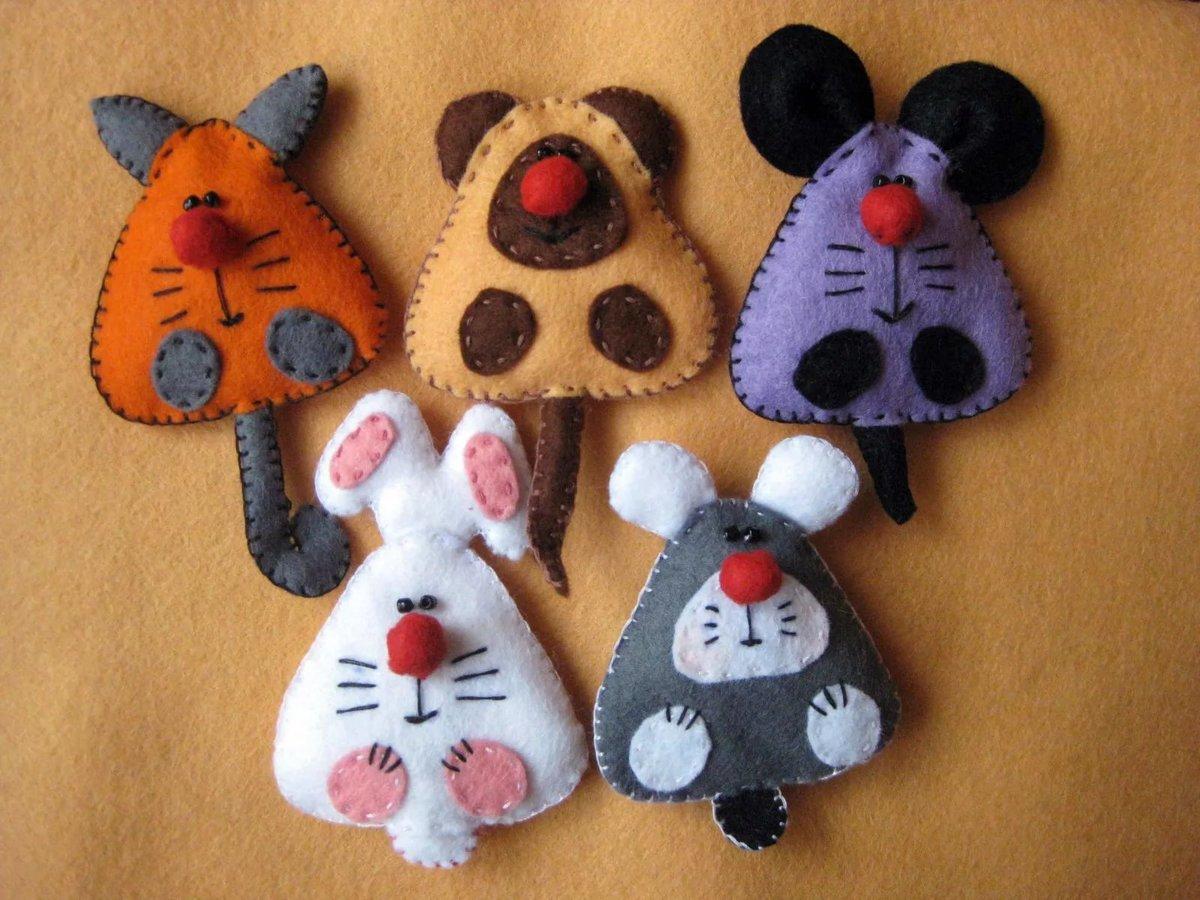 Мягкие игрушки-зверюшки / www. HolidaySoon.org 19
