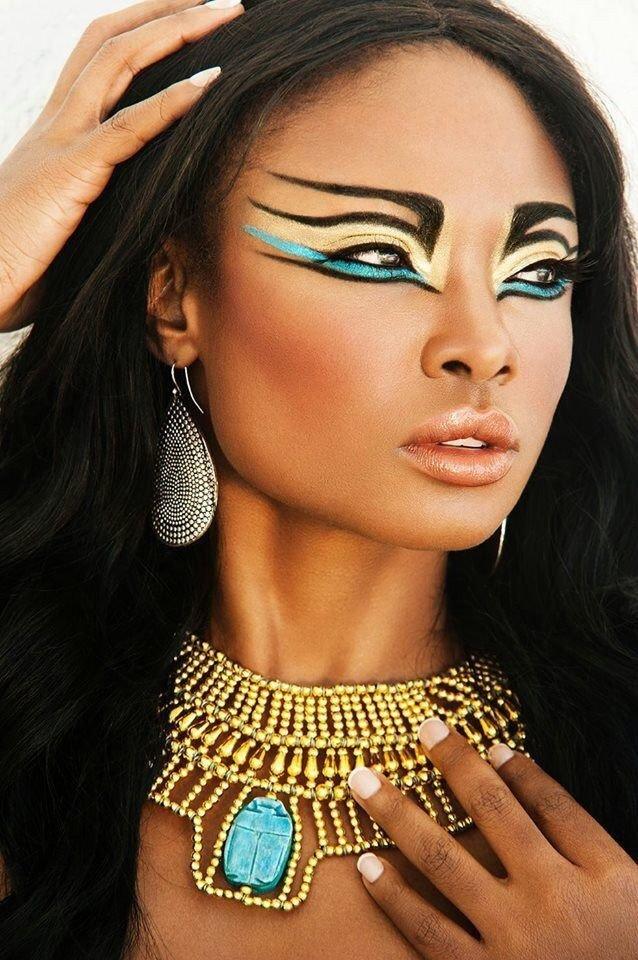Макияж в стиле египет