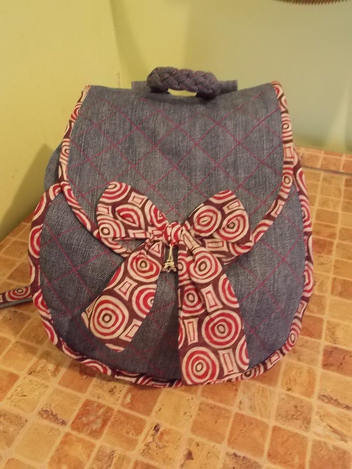 Рюкзачок для девочки своими руками сшить