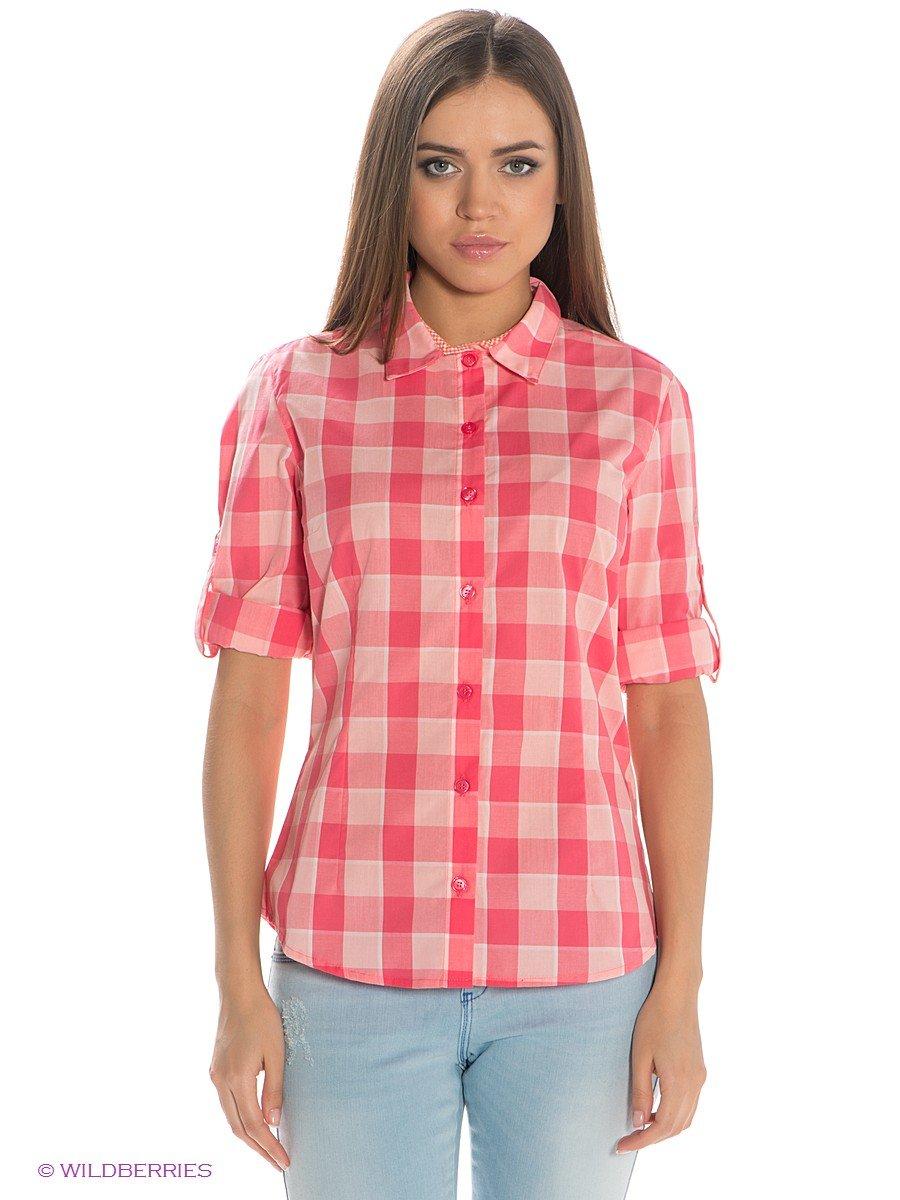 Рубашки женские в клетку 2017
