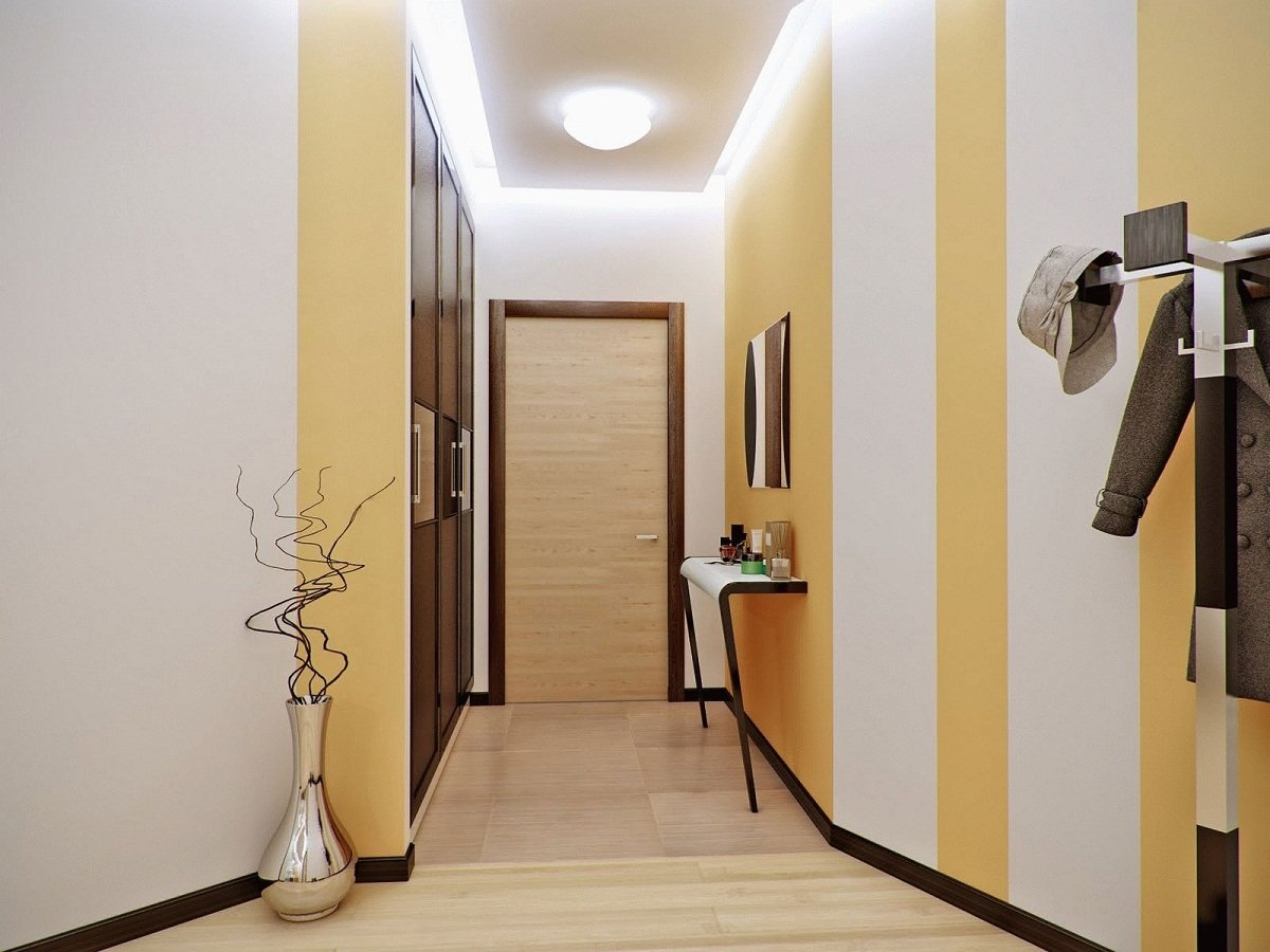 Фото коридор в брежневке дизайн