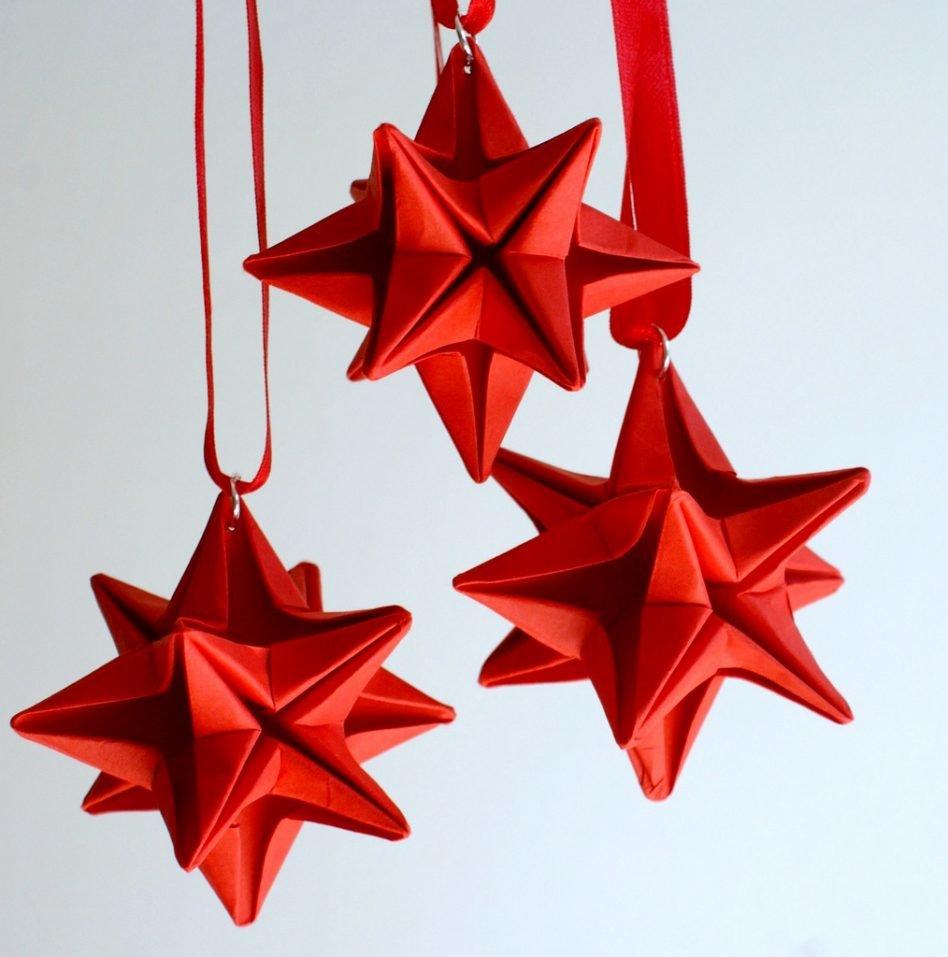 Как сделать звезду на новый год своими руками