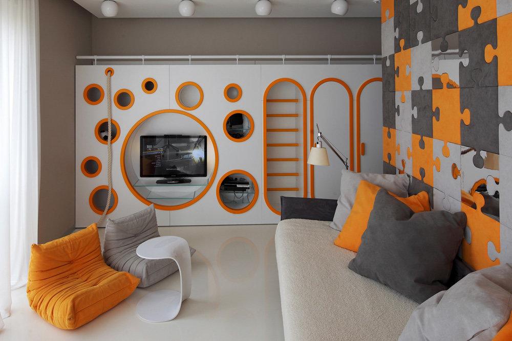 Дизайн для детской комнаты для подростка мальчика 110
