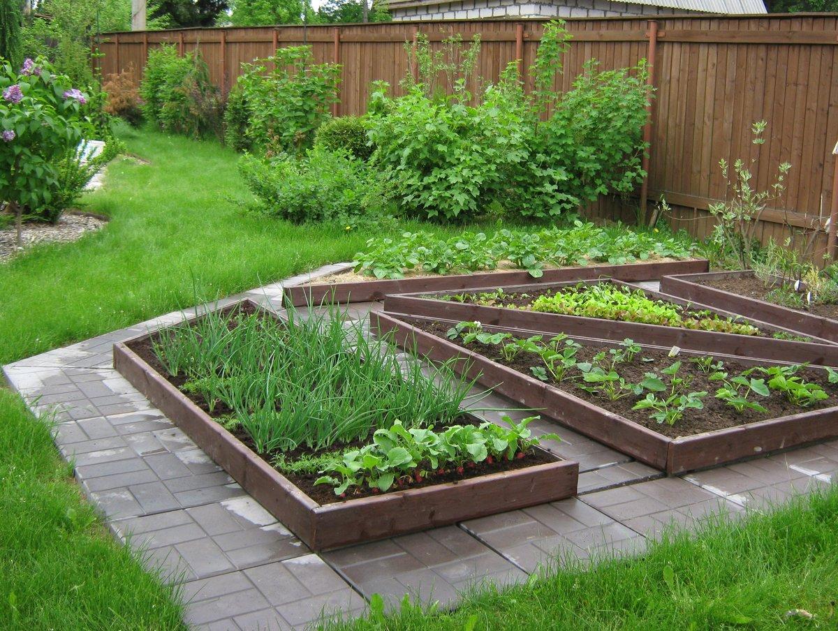 Красивый огород своими руками: оформление огорода на дачном 26