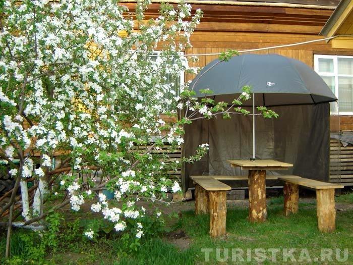 Уютные уголки в саду своими руками фото 2