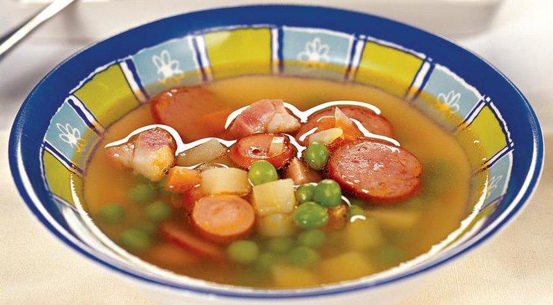 Гороховый суп рецепт пошаговый с фото