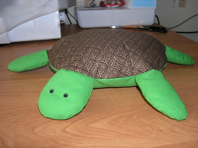 Как сшить подушку черепаху 70