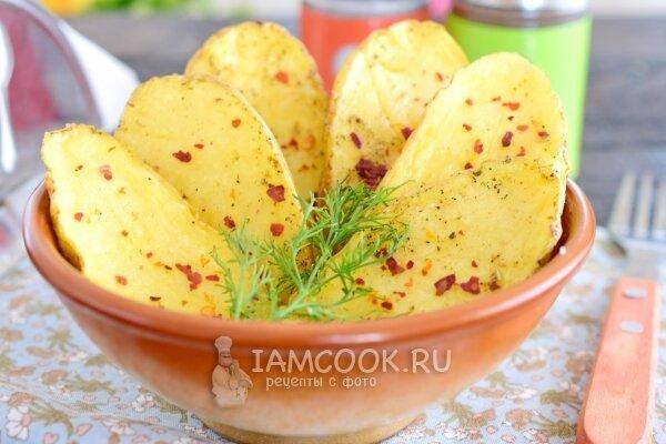 Запеченная картошка в микроволновке рецепт пошагово