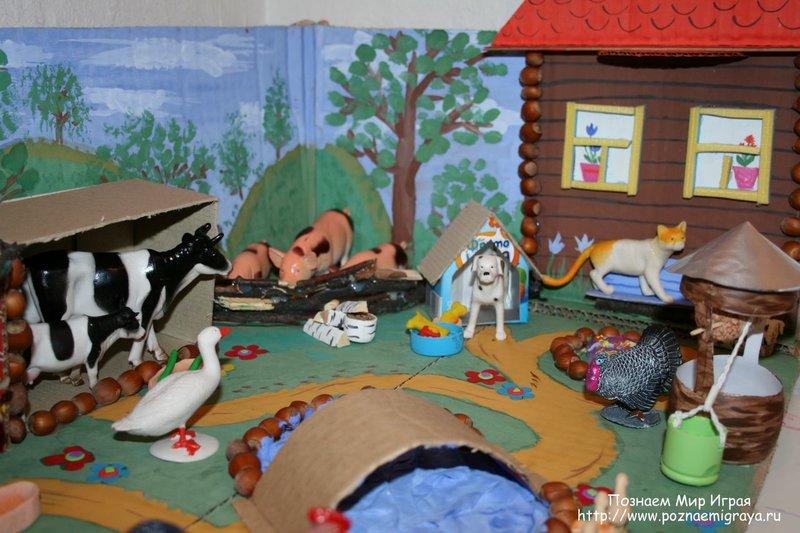 Дома своими руками для детского сада