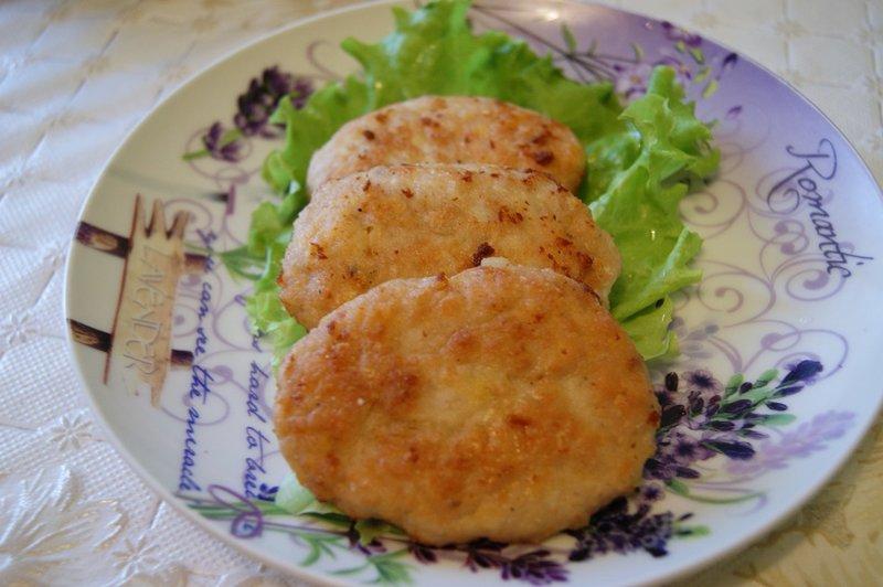 Рецепт с фарша куриного