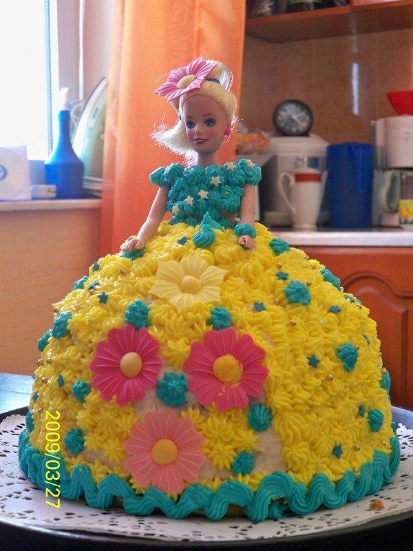 Как сделать торт девочке самой 734