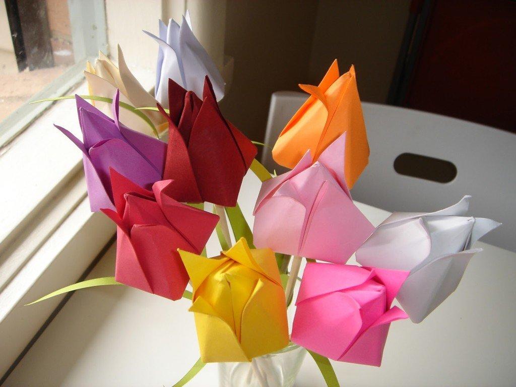 Красивейшие поделки из бумаги оригами