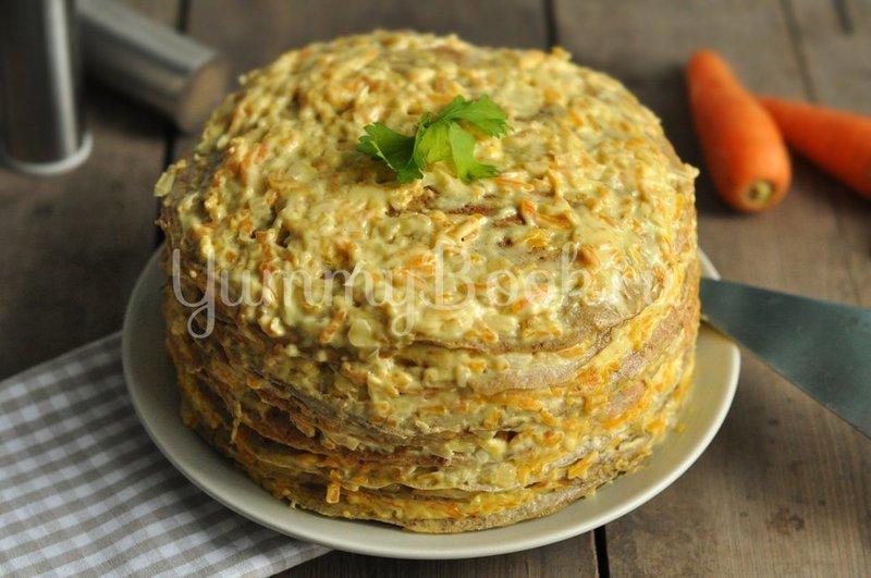 Печеночный торт рецепт с пошагово в домашних условиях