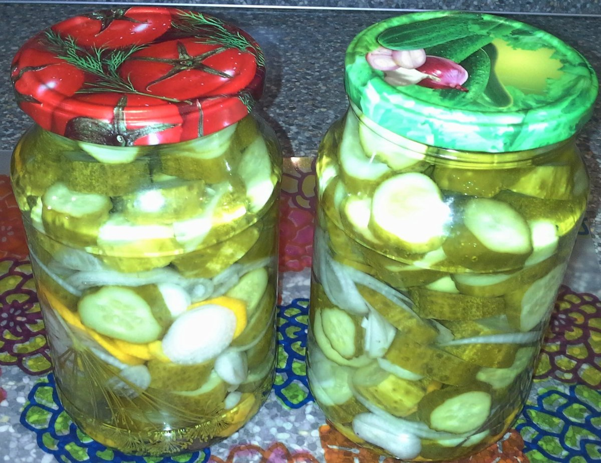 Рецепты салатов из огурцов на зиму пошагово