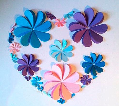 Подделки своими руками с бумаги цветы