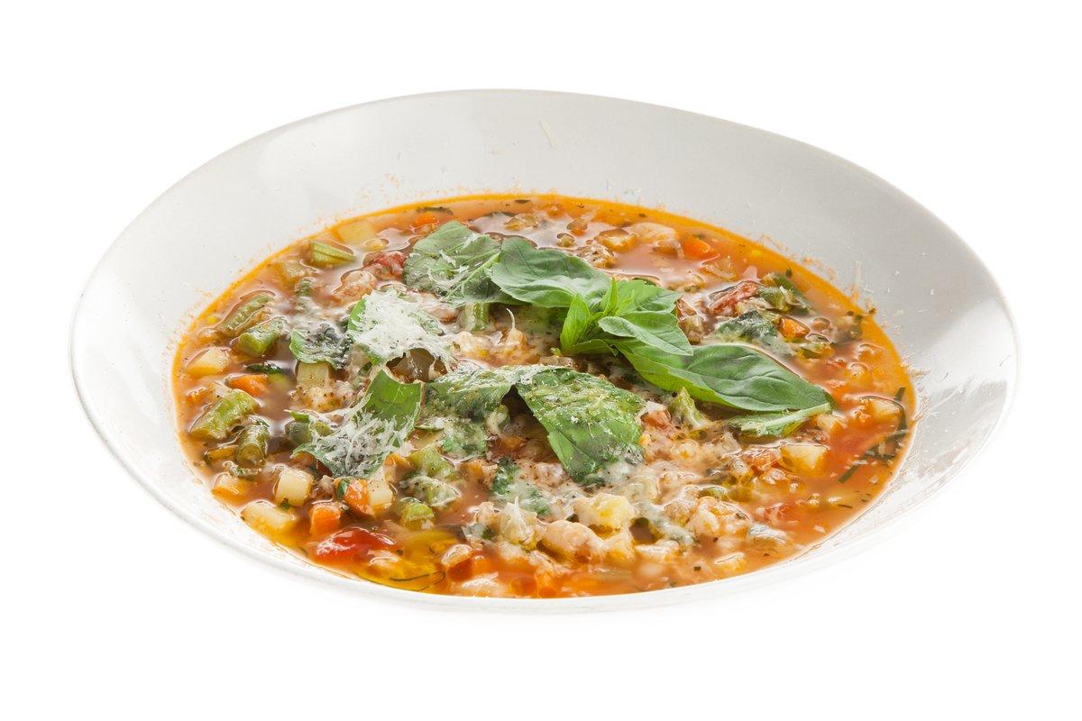 Пошаговый рецепт супа минестроне