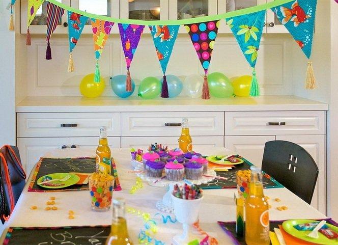 Оформление на день рожденье своими руками 938