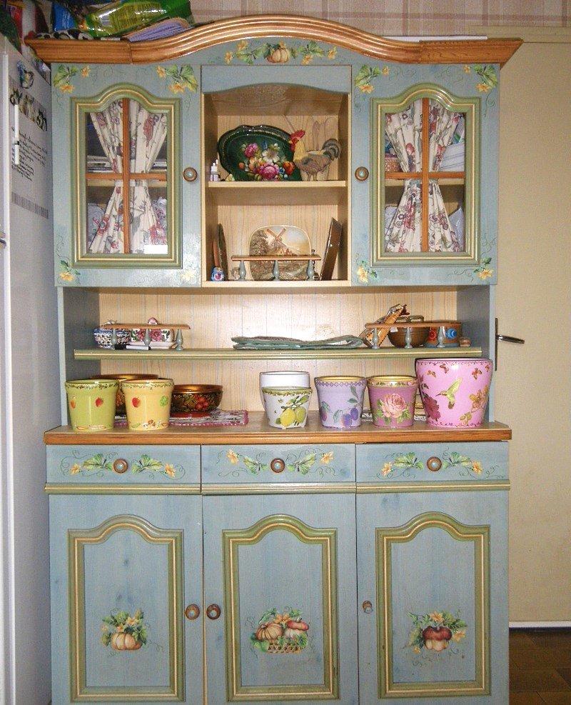 Декупаж шкафа своими руками: выбор идеи для декора 35