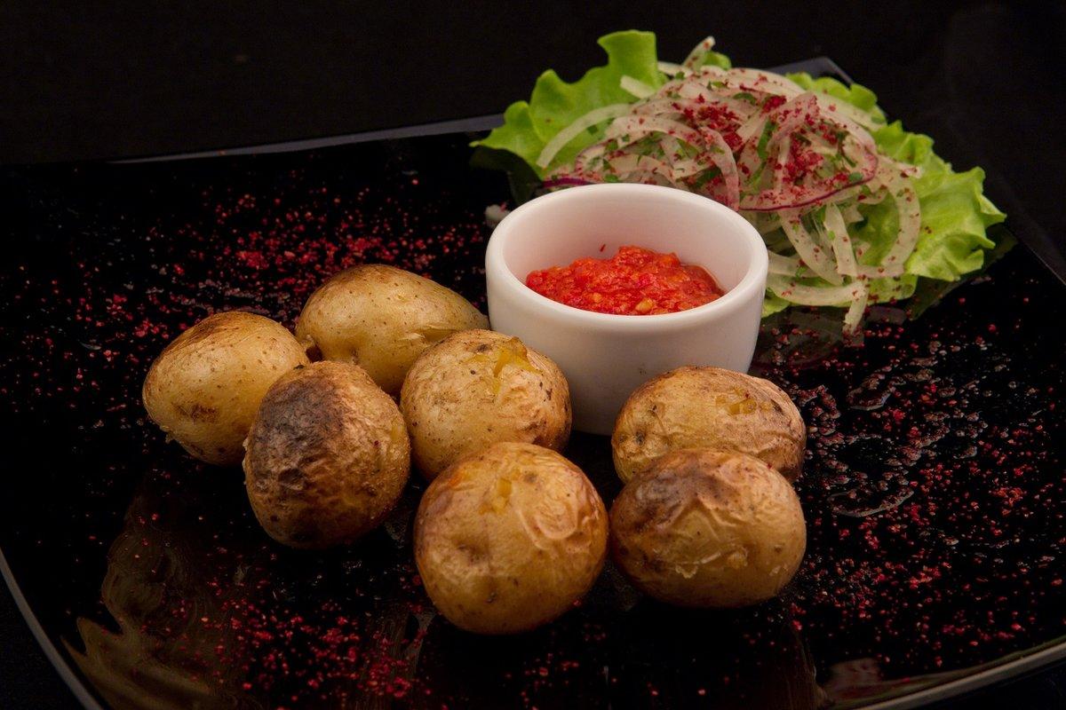 Картофель на углях рецепт