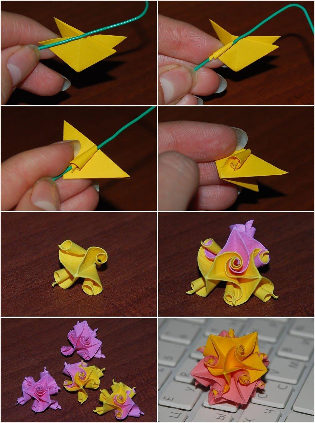 Как сделать поделки оригами из бумаги своими руками. Мастер 87