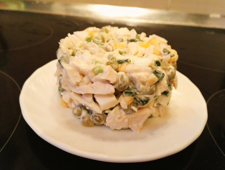 Консервация салат с рисом рецепт с