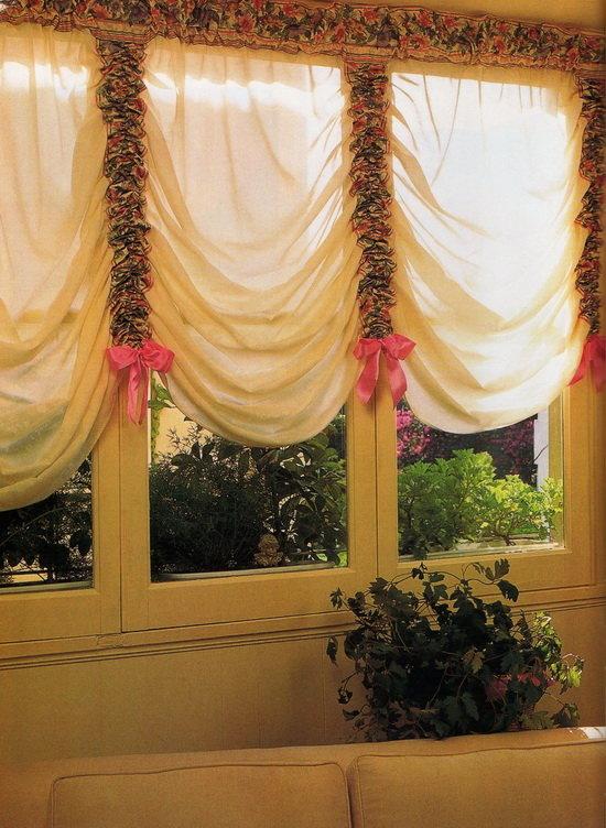 Пошить шторы на кухню своими руками фото 33