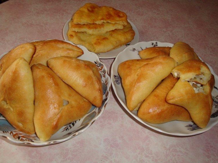 Пироги с рисом и яйцом из дрожжевого теста рецепты с