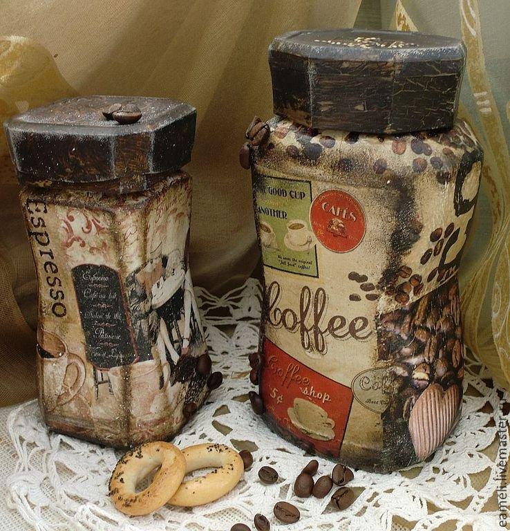 Поделки из банок для кофе 330