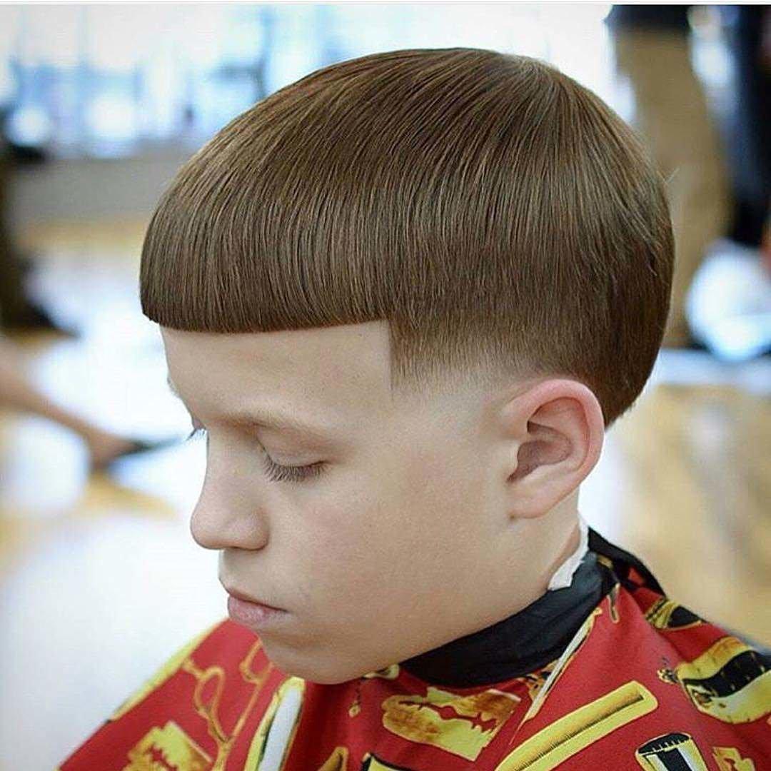 Детские причёски мальчикам 2016