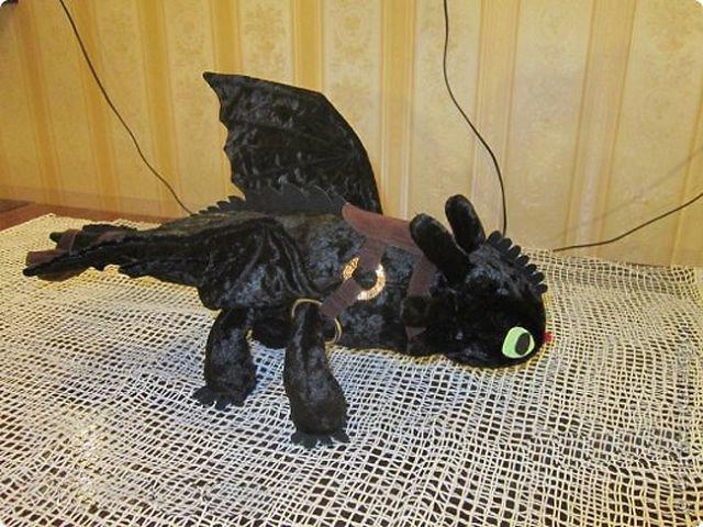 Дракон беззубик сшить своими руками 79
