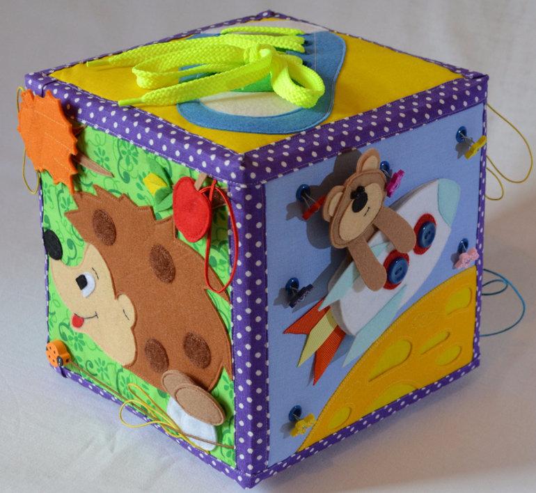 Сшить развивающий кубик своими руками пошаговая инструкция 8