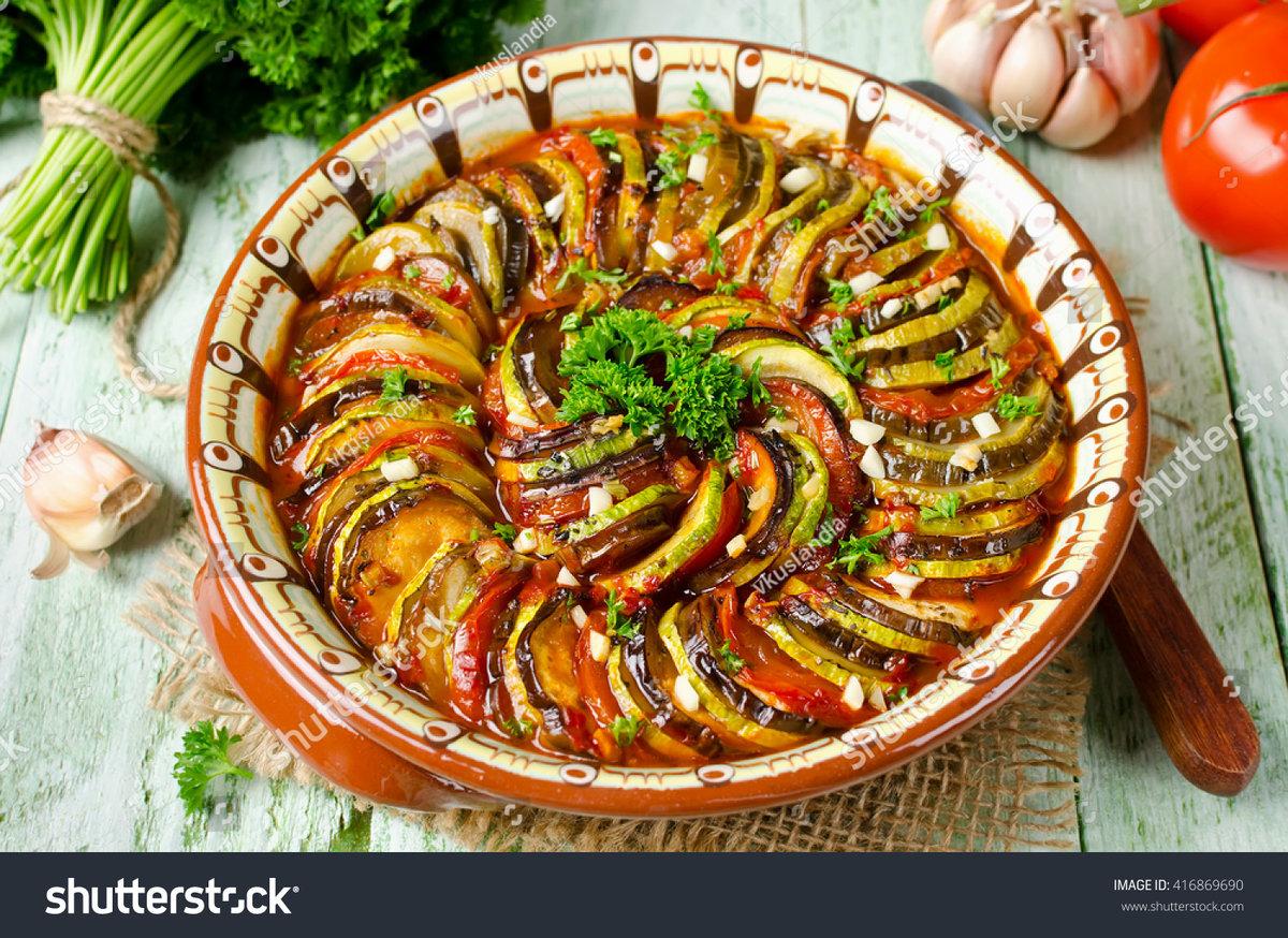 Блюда рататуй рецепт пошаговый