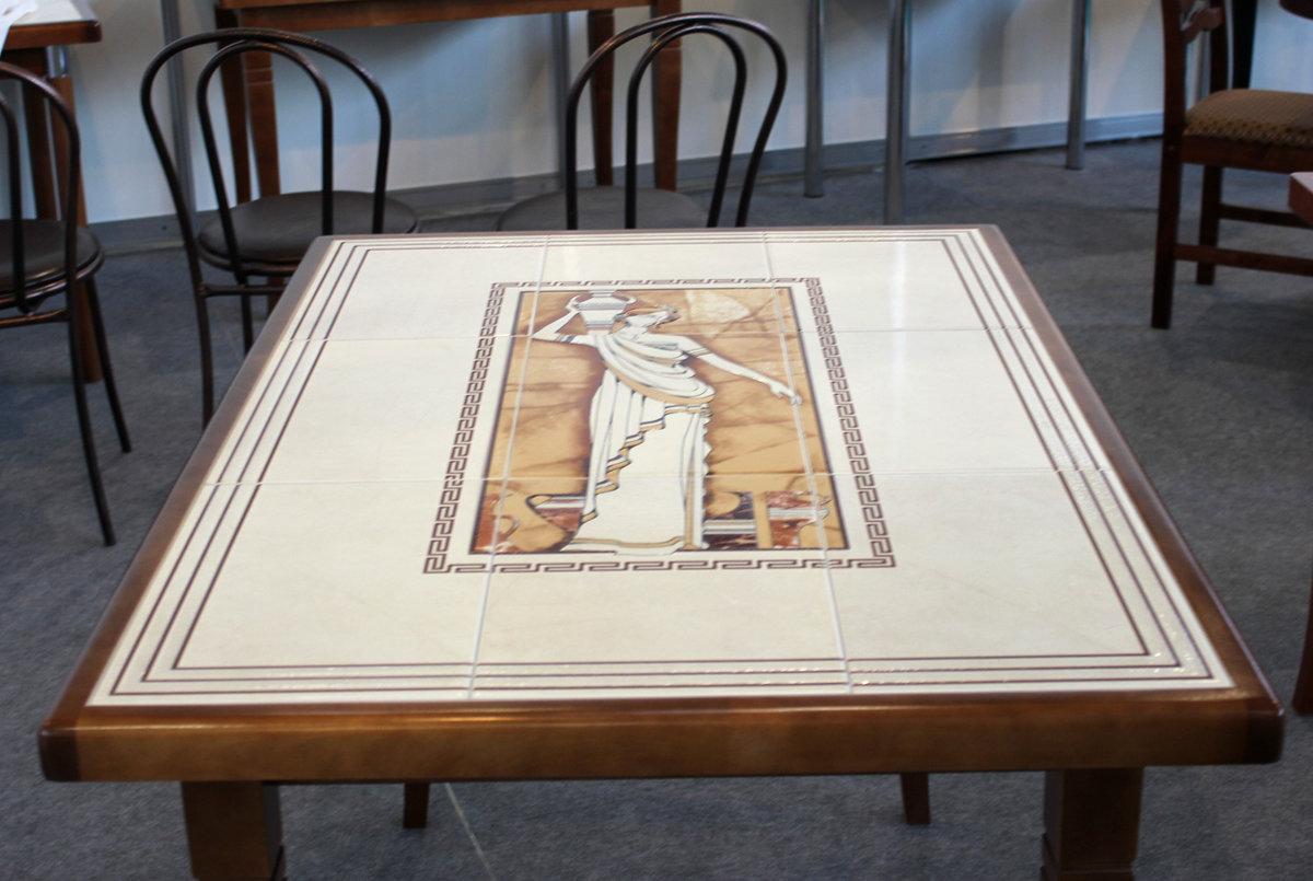 Как сделать столешницу обеденного стола из плитки