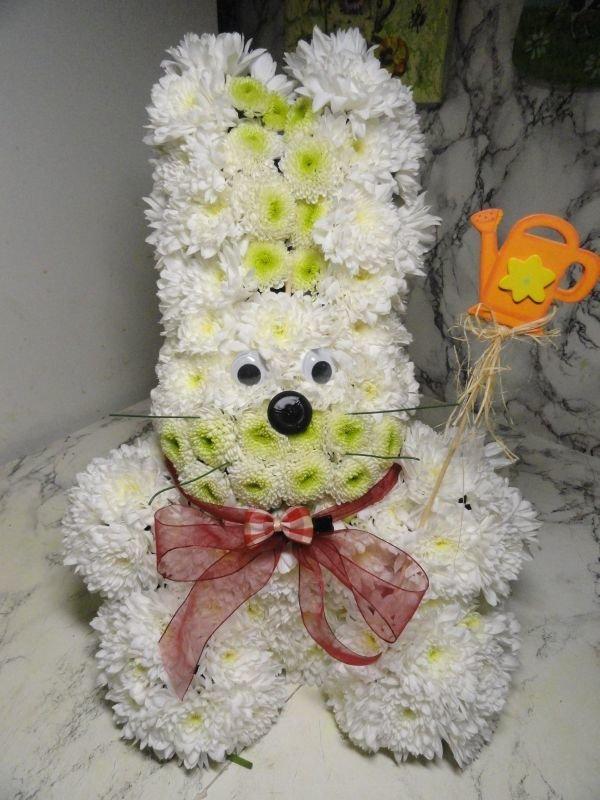 Поделка из живых цветов своими руками для детского сада 32