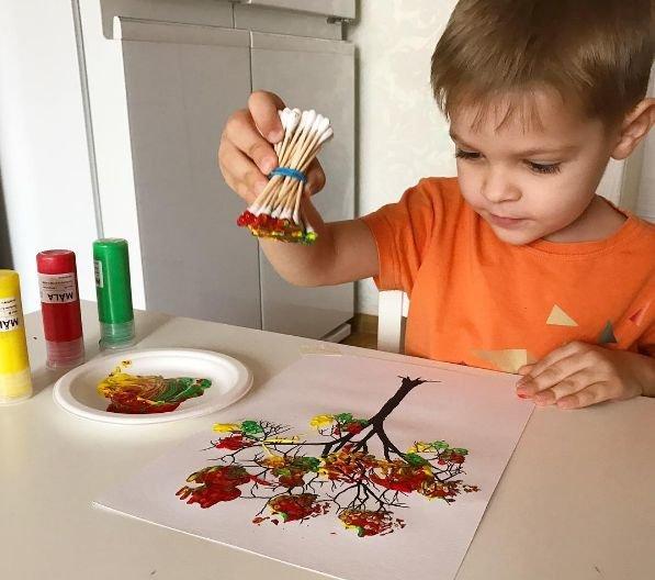 Творчество с детьми примеры 90