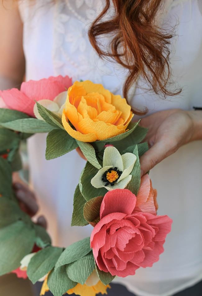 Роль цветов своими руками