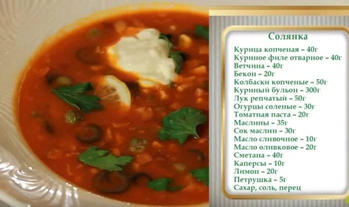 Солянка рецепт классический пошагово 73