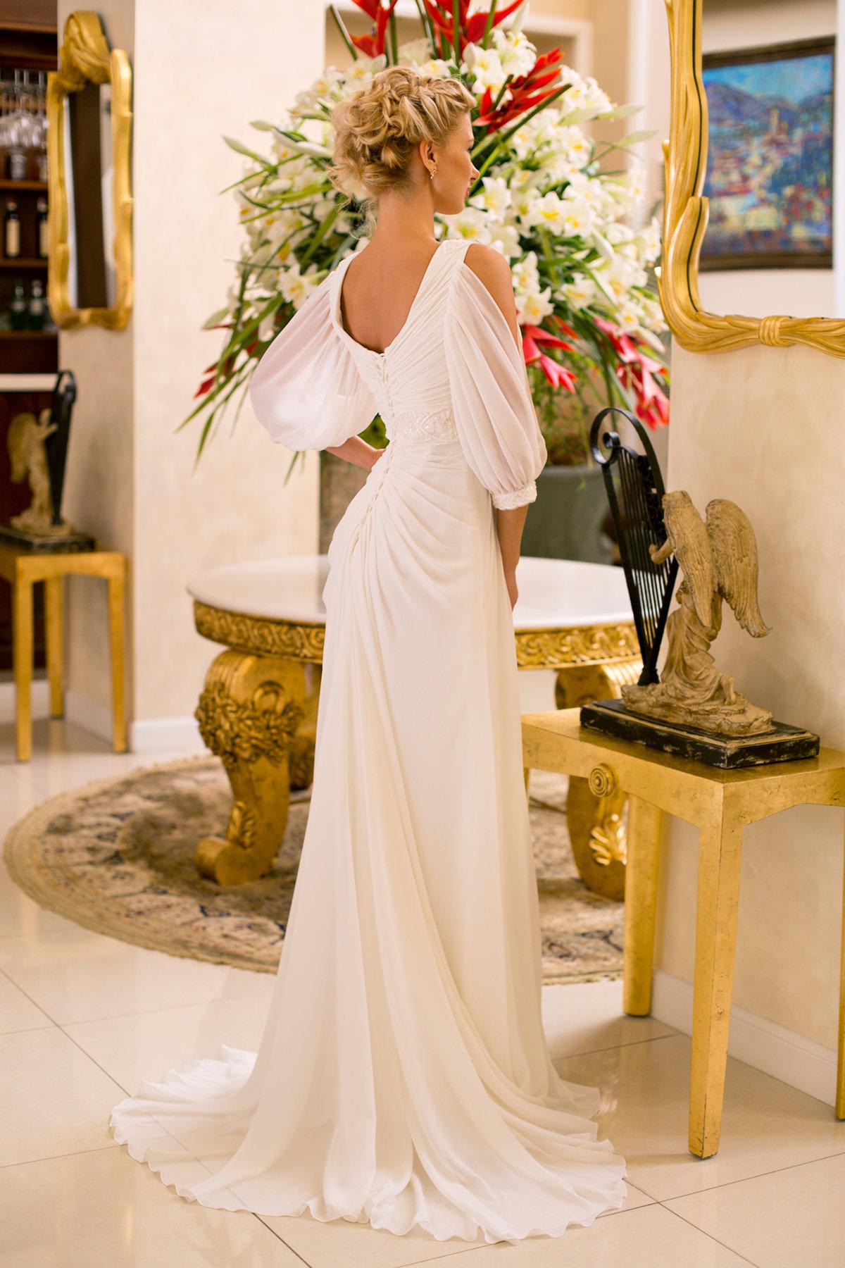 Фото свадебные платья стиля ампир