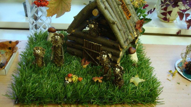 Варианты поделок для детского сада осень