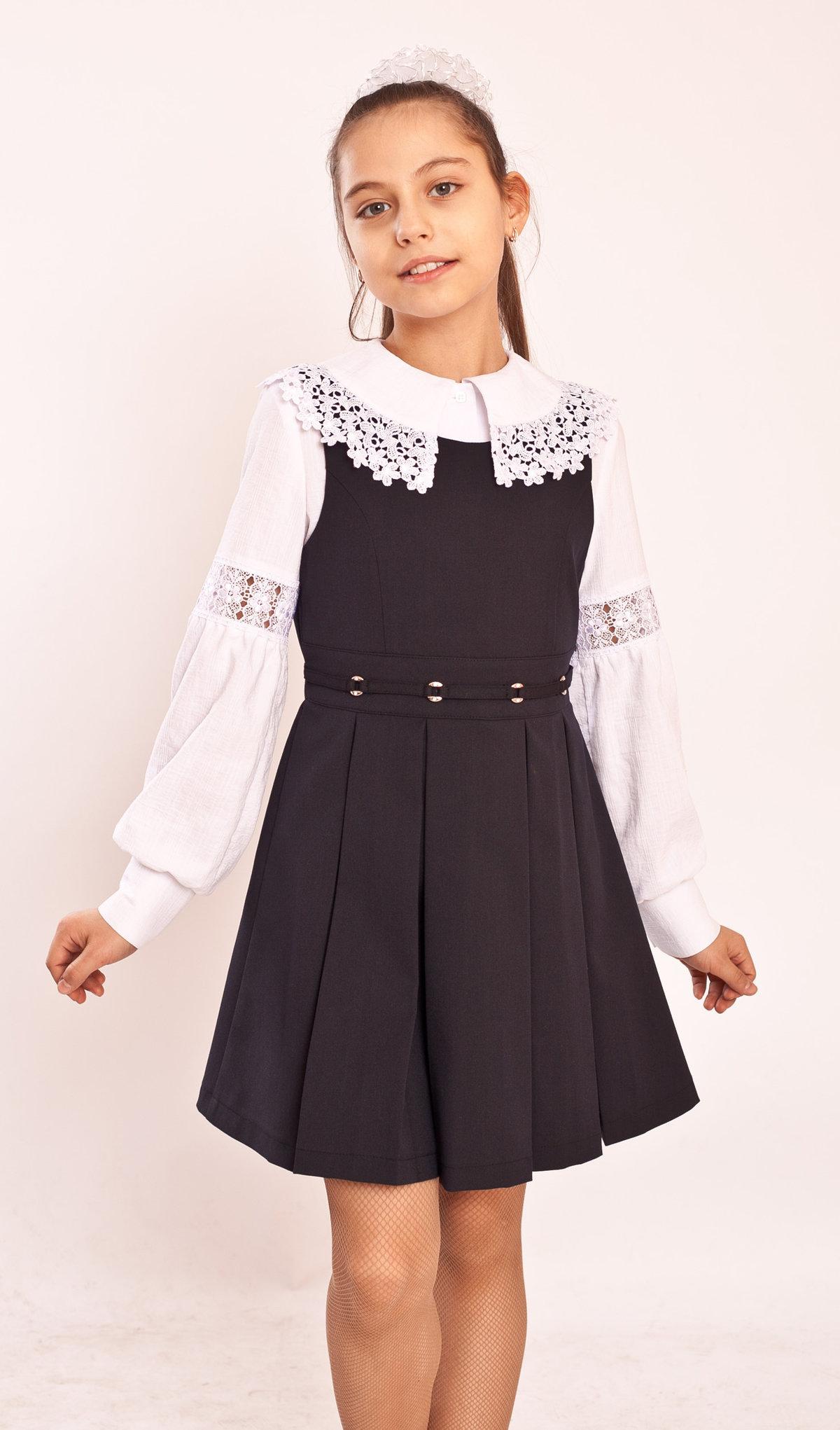 Как сшить школьную форму платье для девочек фото