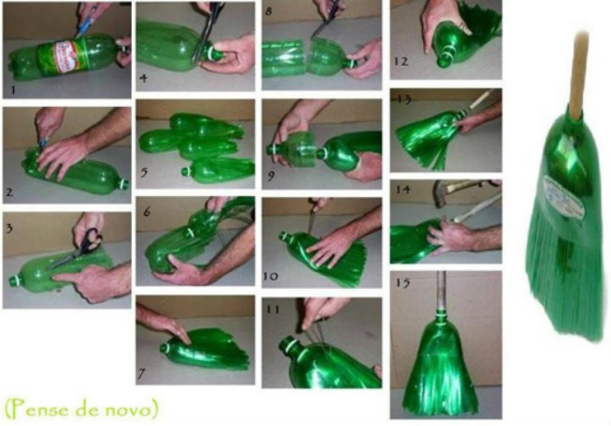 Из бутылок своими руками поэтапно 939