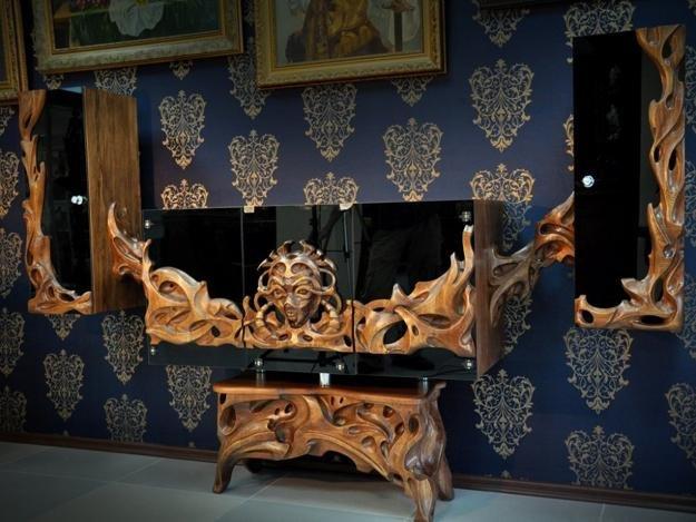 Мебель и интерьеры ручной работы