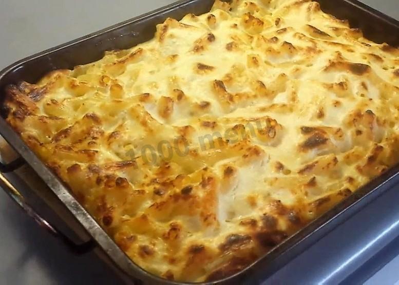Творожная запеканка с макаронами в духовке пошаговый рецепт с