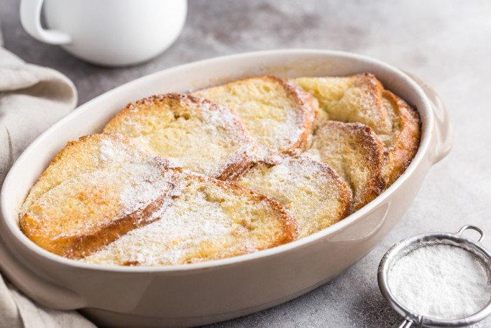 Пудинг из хлеба рецепт