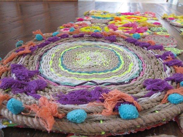Своими руками плетенные коврики