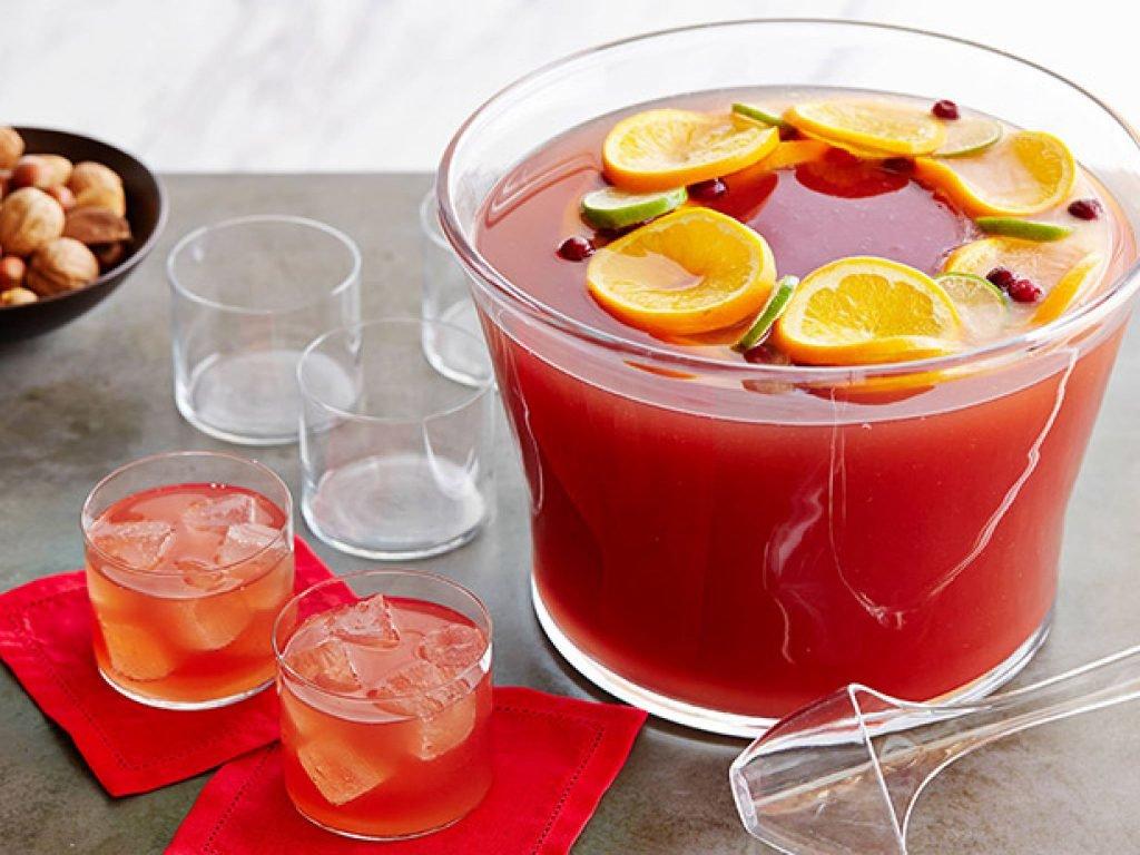 Алкогольный пунш в домашних условиях