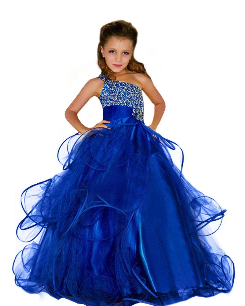 Бальное платья для девочек на новый год