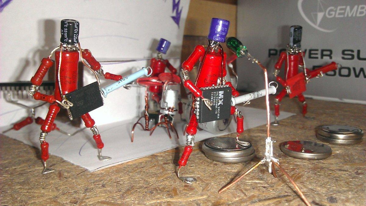 Игрушка электроник своими руками 55